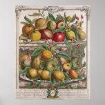 April, 'Twelve Months of Fruits' Poster