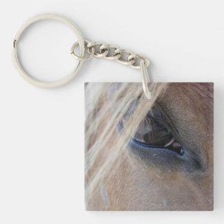 Aprils Eye Single-Sided Square Acrylic Keychain
