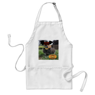 Apron Black Cat The Witch Is Coming
