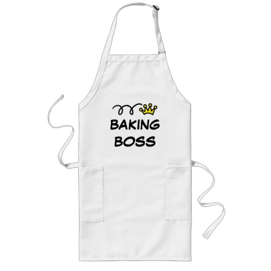 Apron for men with funny quote | Baking