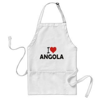 Apron - I love you Angola - I love