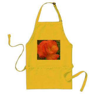 Apron--Mardi Gras Rose Standard Apron