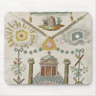 Apron of a Master of Saint-Julien Lodge in Mouse Pad