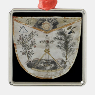 Apron of a Master of the Order of the Rose-Croix Christmas Ornament