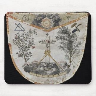Apron of a Master of the Order of the Rose-Croix Mouse Mat