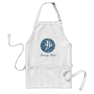 Apron_Template_Tropical Fish_Family Chef-Standard Standard Apron