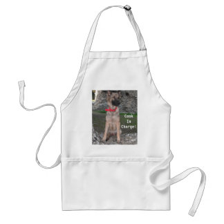 Apron With German Shepherd