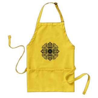 apron with oriental ornaments apron