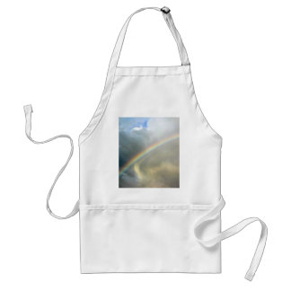 Apron with photo of pretty rainbow