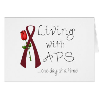 APS Awareness Items Greeting Card