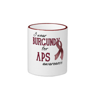 APS Awareness Items Ringer Mug