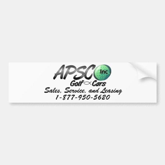 APSCO, Inc Bumper Sticker