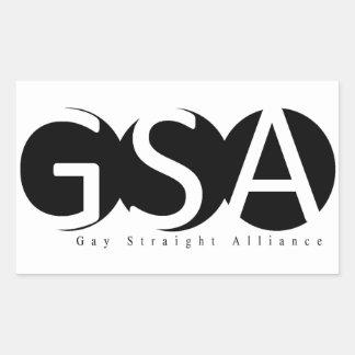 APSU GSA Rectangle Sticker