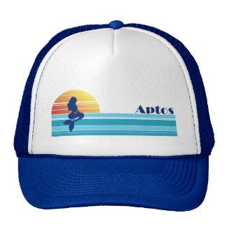 Aptos Mermaid Sunset Trucker Hat Royal Blue