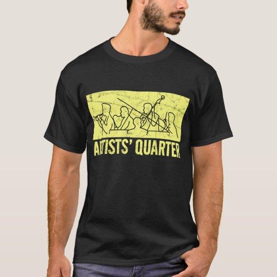 AQ distressed logo T T-Shirt