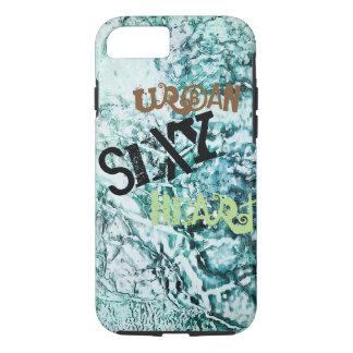 Aqua Abstract - Apple iPhone 7, Tough Phone Case. iPhone 7 Case