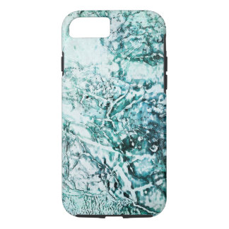 Aqua Abstract - Apple iPhone 7, Tough Phone Case. iPhone 8/7 Case