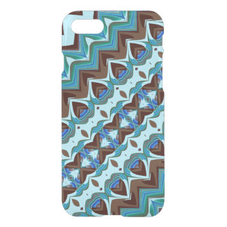 Aqua and Chocolate Fractal iPhone 8/7 Case