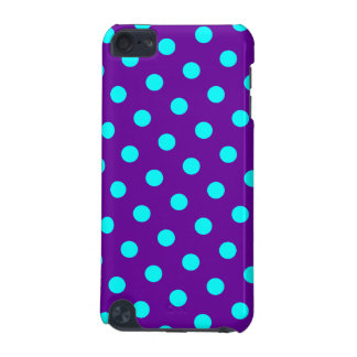 Aqua and Purple Polka Dots iPod Touch (5th Generation) Cover