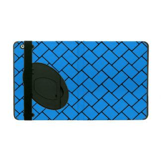 Aqua Basket Weave 2 Covers For iPad