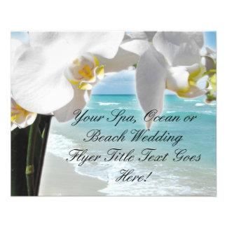 Aqua Beach Orchid 11.5 Cm X 14 Cm Flyer