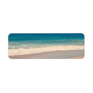 Aqua Beach Scene