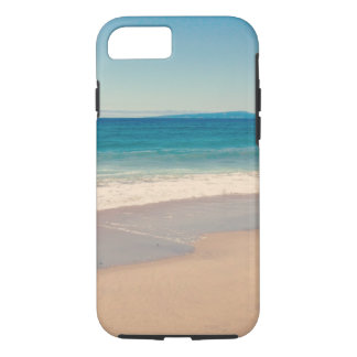 Aqua Beach Scene Photo iPhone 8/7 Case