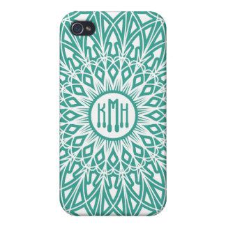 Aqua Blue Crocheted Lace  iPhone 4 Covers