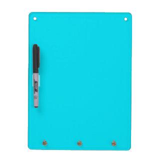 Aqua Blue Dry Erase Board