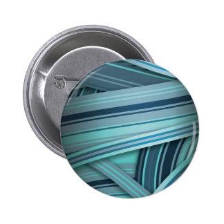 aqua Blue glow 6 Cm Round Badge