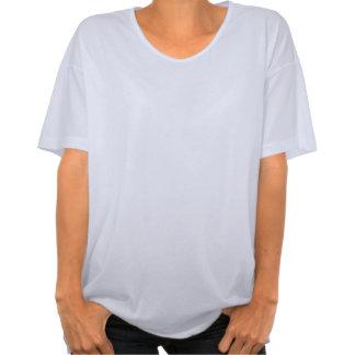 Aqua blue Keep Calm your text shirt for women