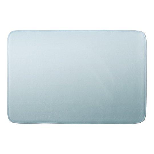 Aqua Blue Ombre Bath Mat