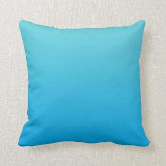 """""""Aqua Blue Ombre"""" Cushion"""
