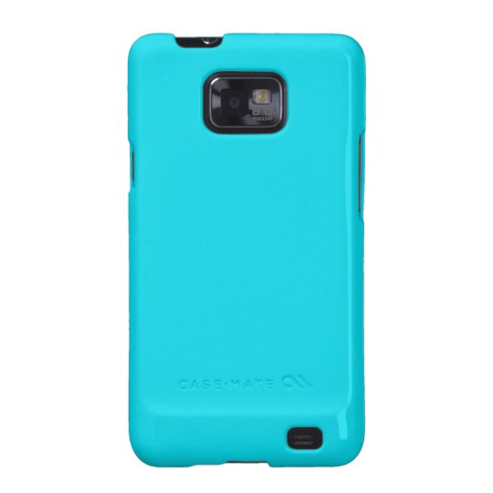 Aqua Blue Samsung Galaxy S Case