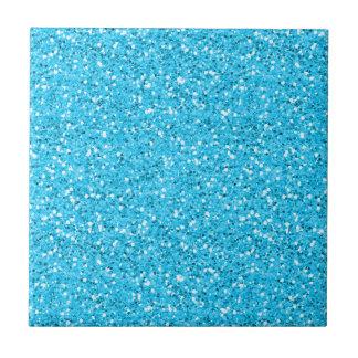 Aqua Blue Shimmer Glitter Tiles