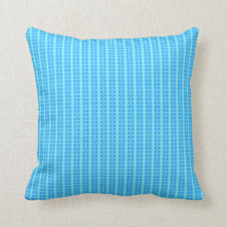 Aqua/Blue Tile Effect> Patterned Pillows