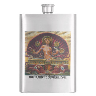 Aqua Boogie Hip Flask