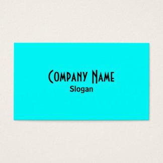 Aqua Business Card