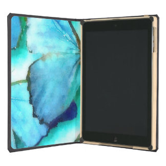 Aqua Butterflies Case For iPad Air