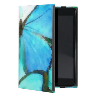 Aqua Butterflies Covers For iPad Mini