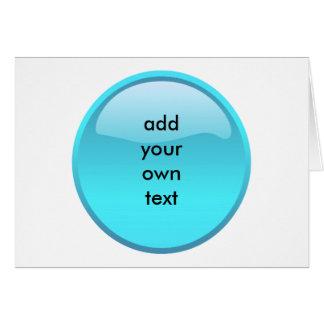 aqua button card