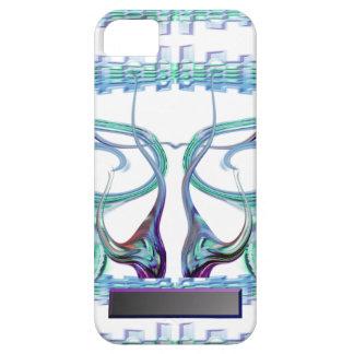 Aqua Curls iPhone 5 Case