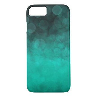 Aqua Cyan Spotted - Apple iPhone 8/7 Case