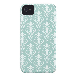 Aqua Damask iPhone 4/4S Case