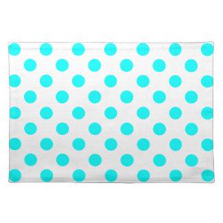 AQUA-DOTS! (a polka dot design) ~ Placemat