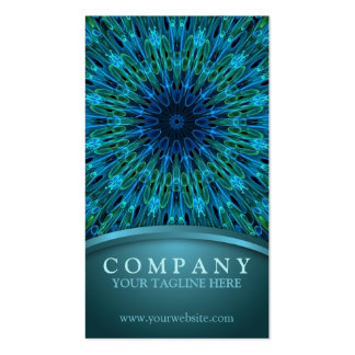 Aqua Explosion Pack Of Standard Business Cards