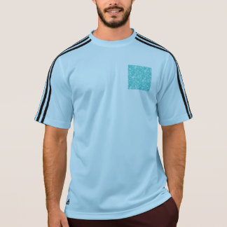 Aqua Floral Paisely Pattern T-Shirt