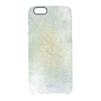 Aqua Gold Blue Dream Clear iPhone 6/6S Case