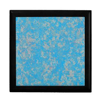 Aqua Green Background Gift Box