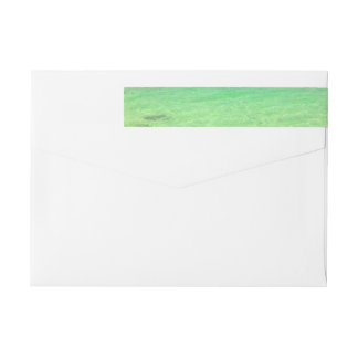 Aqua Green Ocean | Turks and Caicos Photo Wrap Around Label